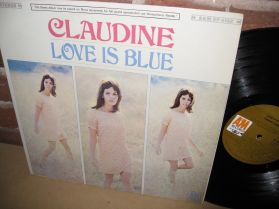 Claudine - Love is Blue - Bossa French Pop Groove - LP