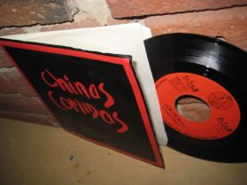 """Chinas Comidas - Snaps, For the Rich - 1 St single - Seattle Punk - 45 - 7"""""""