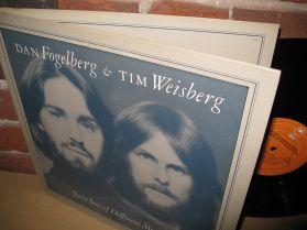 DAN FOGELBERG - TIM WEISBERG - TWIN SONS OF DIFFERENT MOTHERS - SOFT ROCK JAZZ - LP