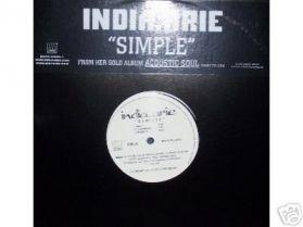 "INDIA ARIE - Simple -12"" PROMO R+B Neo soul 12"