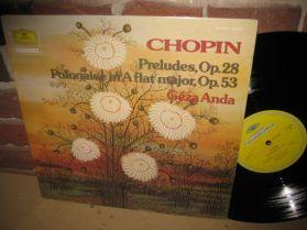 Chopin - 24 Preludes Op.28 - Polonaise No 6 in A flat - Geza Anda - Classical Piano -