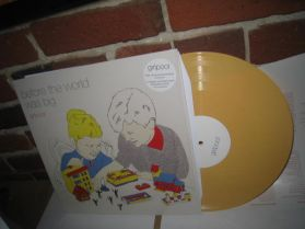 Girlpool - Before The World Was Big - 2015 indie Folk Punk Duo Yellow Vinyl 180 Grm LP