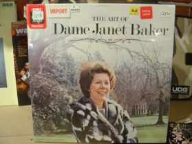 Janet Baker - The Art of Dame .., Sealed Rare 3LP box set