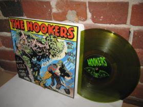 """The Hookers - Must Kill! Must Kill - Garage Punk Metal 10"""""""