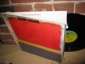Glen Velez - INTERNAL COMBUSTION - Minimalist Frame Drum - 20th Century Classical LP