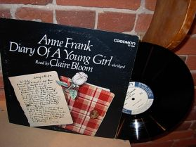 Anne Frank - Diary of a young girl - Claire Boom - CAEDMON 1522 LP