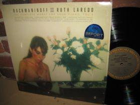 Ruth Laredo - Rachmaninov - Complete Solo Piano 5 - Chopin - Bach - Classical LP