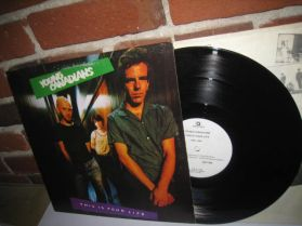 """Young Canadians - This Is Your Life - Art Bergmann - 1980 Vancouver Punk 4 Trk 12"""" EP"""