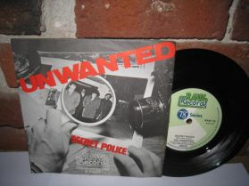 """The Unwanted - Secret Police - These Boots Are Made For Walking - 1978 KBD Punk 7"""""""