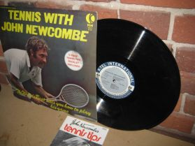 Tennis with John Newcombe  - Instructional Spoken Word LP
