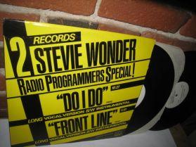 """Stevie Wonder - Do I Do - US Promo - Essential 80s Soul - Boogie - 2x12"""""""