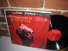 Chopin - Rubinstein - The Chopin Scherzos - 1960 Classical Piano Living Stereo LP