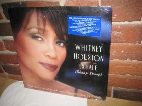 "Whitney Houston - Exhale (Shoop Shoop) - R + B - Soundtrack - Sealed  5 Trk 12"" EP"