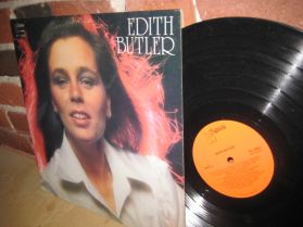 Edith Butler - Self-titled - Acadian Singer-Songwriter and Folklorist LP