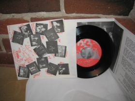 """Flipper - Get Away - The Old Lady That Swallowed The Fly - Private Punk Garage 7"""" 45"""