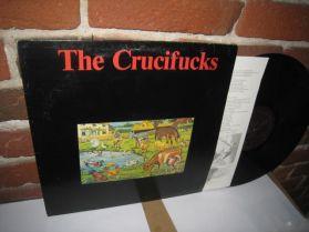 The Crucifucks - The Crucifucks - 1984 Punk LP + Lyric Sheet Insert