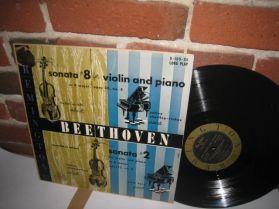 Airoff - Beethoven Violin Sonata #8 / Schneiderhan - Remington R·199·95  Classcal LP