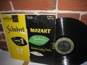 Zoltan Fekete - Mozart -  Schubert - Obscure Powerful Remington Classical LP