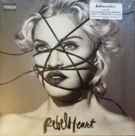 Madonna - Rebel Heart - 2015 Pop Dance Electro  2LP