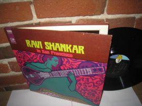 Ravi Shankar - In San Francisco - 1967 Original World Pacific India LP