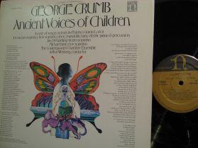 George Crumb - Ancient Voices of Children - 20 Century Classical LP