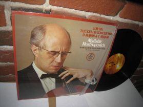 HAYDN - Cello Concertos in D & C - Mstislav Rostropovich - Cello -Classical - LP