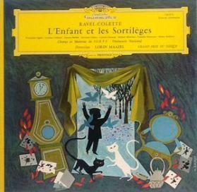 Ravel - L'Enfant Et Les Sortileges - Lorin Maazel - 1961 Tulip Label Classical LP