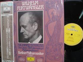 Furtwangler - Strauss - Don Juan - Berliner Philharmoniker  Japan Classical LP