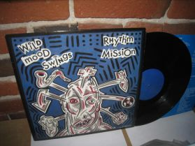 Rhythm Mission - Wild Mood Swings - 1988 Vancouver Punk Art Rock Scotty Hard LP