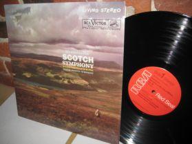 Mendelssohn - Symphony No. 3 - Scottish  - Boston S O - Munch - Powerful Classical LP
