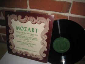 Mozart - Quartet - Divertimento - Westminster - Wlach, Weiss, Kamper  LP