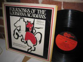 Folksongs Of The Louisiana Acadians - Creole Folk - LP