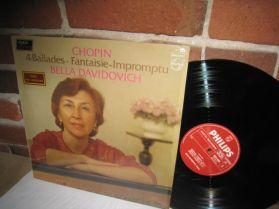 Chopin - 4 Ballades - Fantaisie Impromptu - Bella Davidovich - Classical LP