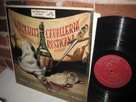 I PAGLIACCI - LEONCAVALLO - CAVALLERIA RUSTICANA - Merrill Bjoerling - Opera LP