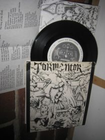 "F.C.D.N. Tormentor - S/T - Falsified Spirit - Eternal Grave - Hardcore - EP - 7"""