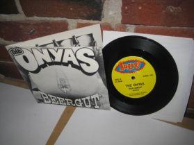 "The Onyas - Beergut - Run Amok - Australia Punk -45 - 7"""