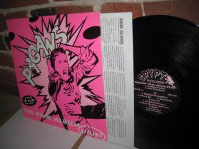 Pagans - The Pink Album - Post Rock Punk LP