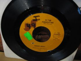 """Mungo Jerry - In The Summertime - Classic 70`s Pop Rock - 7"""" - 45 RPM"""