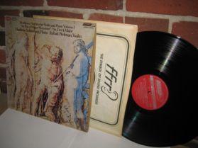 Beethoven - SONATAS FOR VIOLIN AND PIANO - 9 + 2 - Ashkenazy Perlman  LP