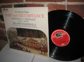Elgar - Pomp & Circumstance Marches 1-5 - Barbirolli - UK HMV Classical LP