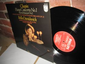 Chopin - Piano Concerto No.1 - Bella Davidovich - Classical LP