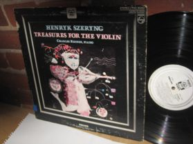 HENRYK SZERYNG Plays TREASURES FOR THE VIOLIN - Reiner Canada Issue Classical LP
