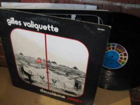Gilles Valiquette - Deuxieme Arret - French Quebec - Acid Folk - LP