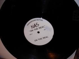 Nas - On the real- White label - Listen !