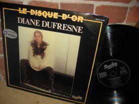Diane Dufresne - Le Disque D'or - Quebec French Pop Rock Funky Vocal Dance Disco LP