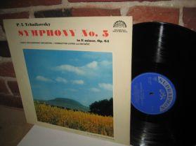 Tchaikovsky - Symphony No. 5 - Czech Philharmonic - Lovro Von Matacic LP
