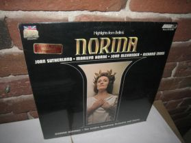 Bellini - Norma - Highlights - Joan Sutherland - Horne -1968 Sealed Classical Opera LP