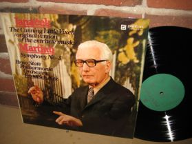 Janacek - The Cunning Little Vixen - Martinu - Symphony No 3 - Jilek - Brno Phil LP