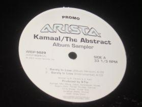 Kamaal The Abstract - Album Sampler - Q-Tip - Hip Hop + Jazz - Promo - 12 - EP