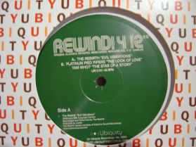 "The Rebirth - Evil Vibrations - Rewind 4 - Rare Modern Funk Soul 3 Trk 12"" EP"